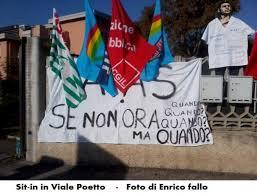 Cagliari, 3 giugno 2014: assemblea lavoratori AIAS