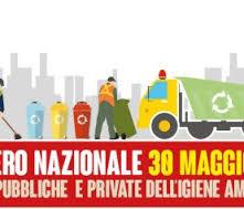Igiene ambientale:  15 giugno 2016 sciopero generale