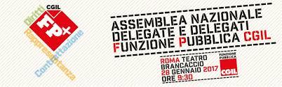 Assemblea nazionale di delegati ed RSU. Roma, 28 gennaio 2017