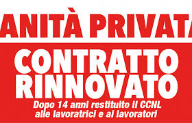 Cgil Cisl Uil Fp, oggi firma definitiva rinnovo Sanita privata